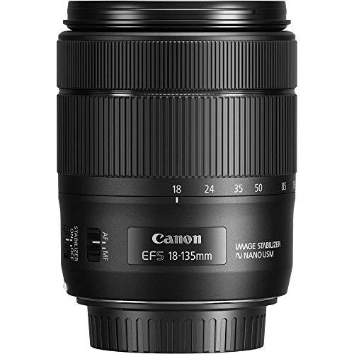 Canon EF-S 18-135mm F3.5-5.6 IS USM Objektiv (67mm Filtergewinde) schwarz