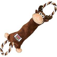 Kong Tugger nudos rana perro juguete