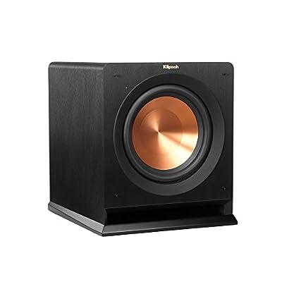 "Klipsch R-110SW 200W Black subwoofer - subwoofers (200 W, 27 - 125 Hz, 450 W, 25.4 cm, 25.4 cm (10""), Black) in promozione su Polaris Audio Hi Fi"