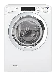 Candy GV4 137TWHC3-01 freestanding Front-load 7kg 1300RPM A+++ White washing machine - washing machines (Freestanding, Front-load, White, Buttons, Rotary, Left, Chrome)