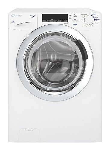 Candy GV4 137TWHC3-01 freestanding Front-load 7kg 1300RPM A+++ White washing machine - washing machines (freestanding, Front-load, A+++, A, B, White)