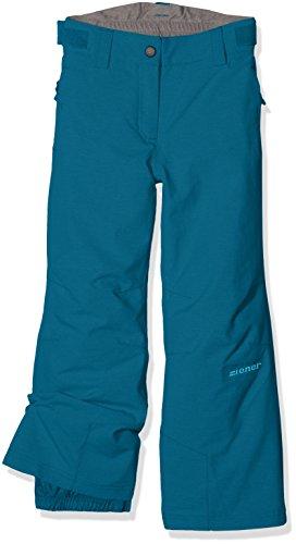 Ziener Kinder Are Jun (Pant Ski) Skihose, Blue Sea, 140