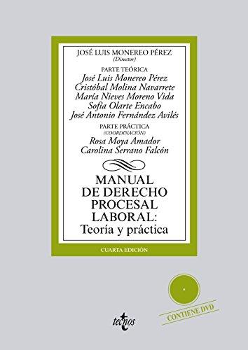 Manual de Derecho Procesal Laboral:: Teoría y práctica (Derecho - Biblioteca Universitaria De Editorial Tecnos)