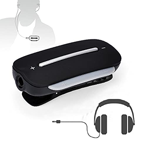 Avantree aptx LOW LATENCY Bluetooth 4.2 Audio Adapter Empfänger für Kopfhörer, 3.5mm Wireless Receiver für kabelgebundene Ohrhörer Headphones, mit Mikrofon für Anrufe und Musik - Clipper