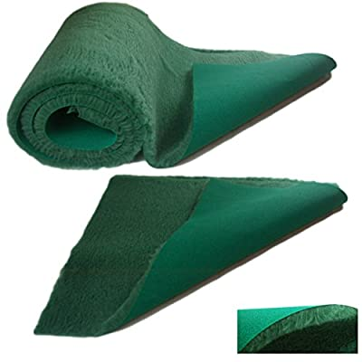 Soul Destiny Traditional Green High-Grade Vet Bedding 30mm THICK ROLL WHELPING FLEECE DOG PUPPY PRO BED from SOUL DESTINY