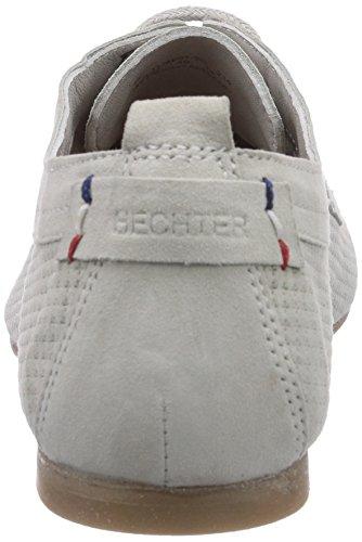 Daniel Hechter Hj49013g, Derbies à lacets femme Blanc - Blanc cassé/argenté