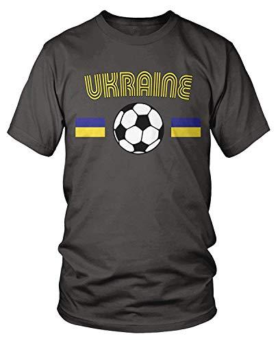 Ukraine Der Kostüm - Men's Ukrainian Soccer, Ukraine Football T-Shirt XL