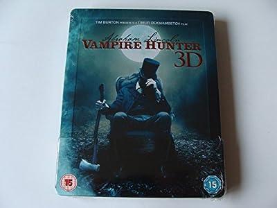Abraham Lincoln: Vampirjäger (Vampire Hunter) 3D - Exclusive Limited Edition Steelbook (Blu-ray 3D + Blu-ray) (Import 2D mit de