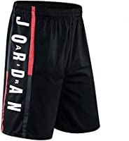 NNLX Pantaloncini da Basket da Uomo Bulls Jordan # 23 - Corsa Sportiva e Fitness Casual Pantaloncini Elastici