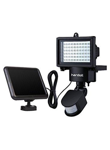Hardoll Bright 60 LED Solar Lights Outdoor Solar Security Lights with  Motion Sensor Solar Flood Lights