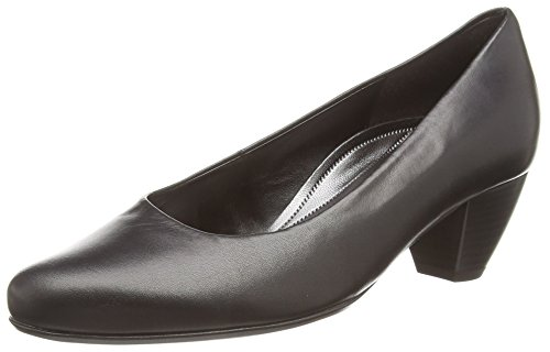 GaborWhitiker, Scarpe con Tacco donna Nero (Black Leather)