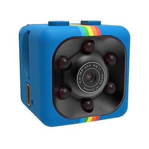 Mini Outdoor Security Hidden Camera,Wireless Full HD 690P DV Sports CCTV  Video Action Bullet Cameras,Dicomi DVR Recorder Camera SQ11 Recorde with  32GB