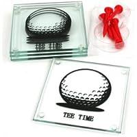 Una gamma di regali per lui (marito, figlio, fidanzato, padre, zio) TEE TIME COASTERS