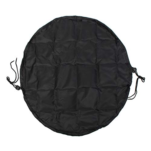 TuToy Black Waterproof Wetsuit Mat Bag Nylon Beach Surf Change Carry Changing Clothes Storage Bag Container Surf-mat