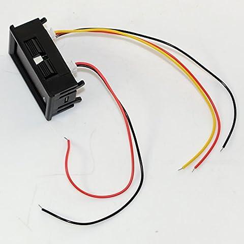 DC 0-300V LED Display Panel Voltmeter Ammeter Digital Volt Amp Meter Tester 50A