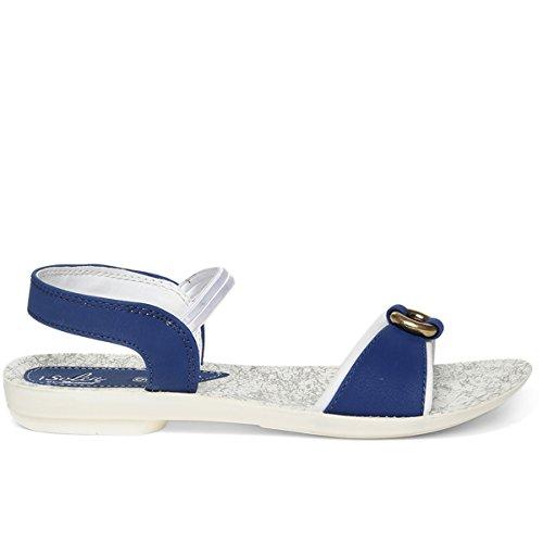 PARAGON Women's Blue Fashion Sandals-6 UK/India (39/40 EU)(PU7039L)