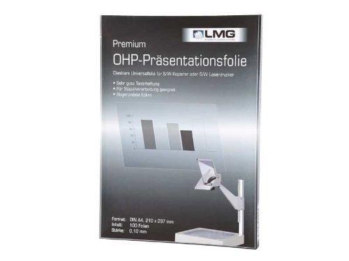 r&b LMGOHPS - Präsentationsfolie - Premium Overheadfolien, DIN, A4, 100 Stück
