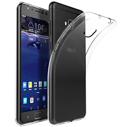 KuGi Alcatel 5V Hülle, Kratzfeste Hülle Alcatel 5V Schutzhülle Soft TPU Case Ultradünn Cover [Slim-Fit] [Anti-Scratch] [Shock Absorption] für Alcatel 5V Smartphone. Klar