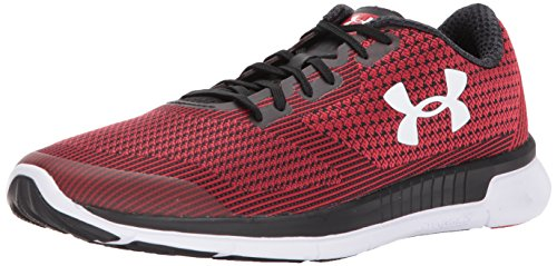 Under Armour Mens Charged Lightning Running Shoe, STY/Blk/Blk, M US