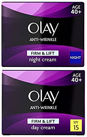 Olay Firm & Lift Anti Wrinkle Day & Night Cream Set (2 x 50ml)