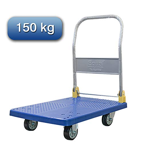 EQUAL Portable Platform Trolley Dolly Cart For Lifting Heavy Weight,...