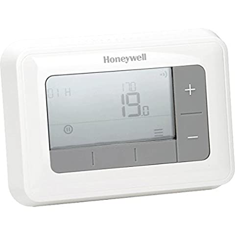 Honeywell T4H110A1021 T4 7 Day Programmable Thermostat - White
