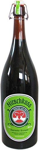 Hirschkuss 3.0l - Kräuterlikör nach altem Hausrezept in Bügelflasche
