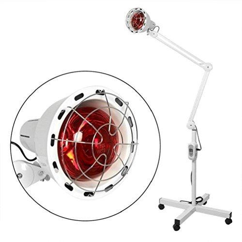 Infrarot-Wärmelampe Lointain IR Heizung Fußbodenheizung Linderung Schmerztherapie Effektiv Dimmbar Arthritis Bild 2*