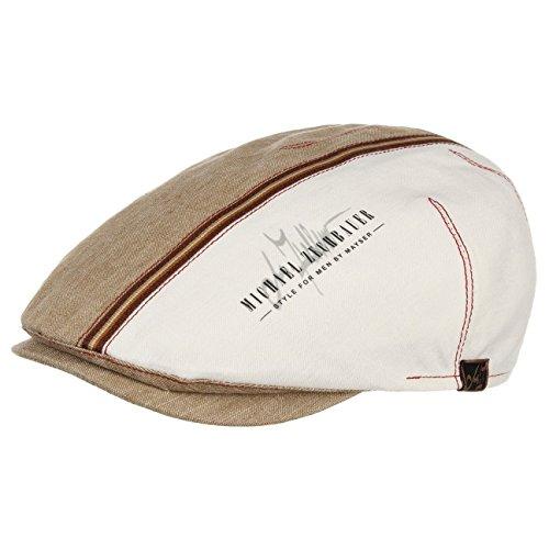 Casquette Plate Jenson Mayser bonnets d´ete casquette plate beige fonce