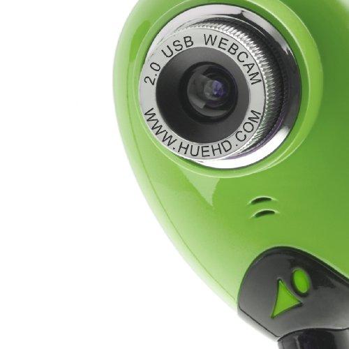 HUE HD Kamera: USB Dokumentenkamera und Webcam mit eingebautem Mikrofon für Windows & Mac (grün) - 3
