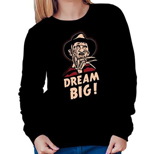 Nightmare On Elm Street Dream Big Women's Sweatshirt