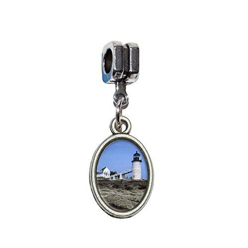 Maine Leuchtturm–Marshall Point Italienisches europäischen Euro-Stil Armband Charm -