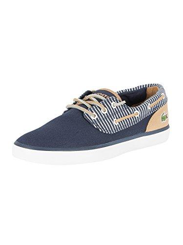 Lacoste Jouer Deck 117 2 Mens Boat Shoes Navy - 7 UK