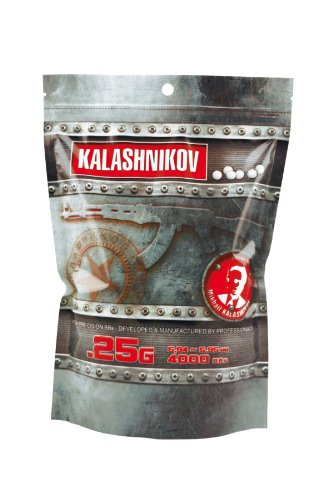 KALASHNIKOV Swiss Arms Billes Sac de 4000BB's 0,25 GR
