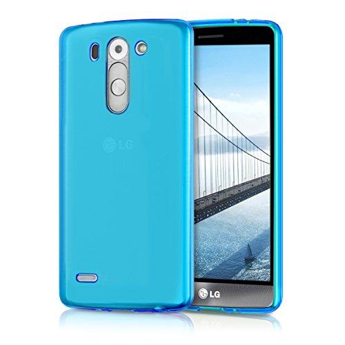 kwmobile LG G3 S Hülle - Handyhülle für LG G3 S - Handy Case in Blau
