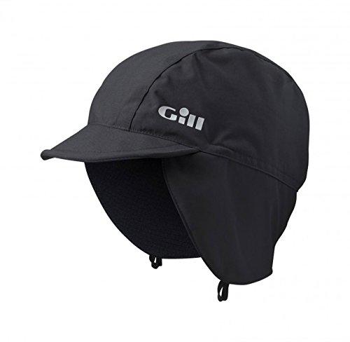 Gill Thermal (Gill Helmsman Hat Graphite - Thermal Warm Heat Layer Schichten Atmungsaktiv Wasserdicht Sprayproof - Unisex)