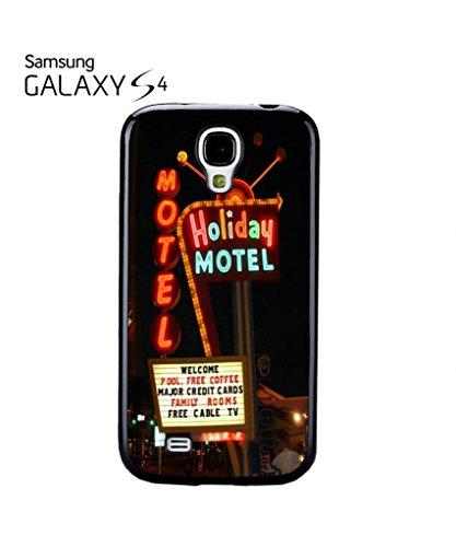 Holiday Motel Hotel America Cell Phone Case Samsung Galaxy S4 Mini Black Noir