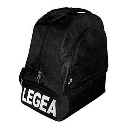 Legea Tasche Oristano Small ohne Boden Leichtathletik Fußball Komplett Bags Line Turnier Sport 50x 27,5x 56cm Schwarz