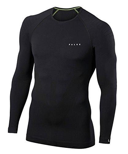FALKE Herren Ardent Longsleeve Shirt Tight Unterwäsche, Black, M
