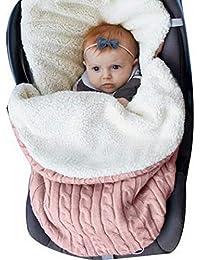 laamei Manta de Invierno para Bebé Recién Nacido Manta Envolvente Saco de Dormir Swaddle Diseño Universal