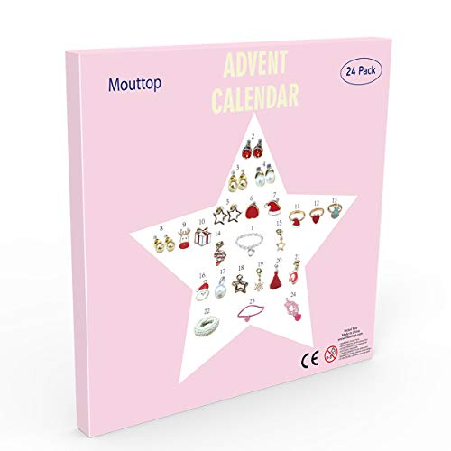 Mouttop Adventskalender, 24 Charms