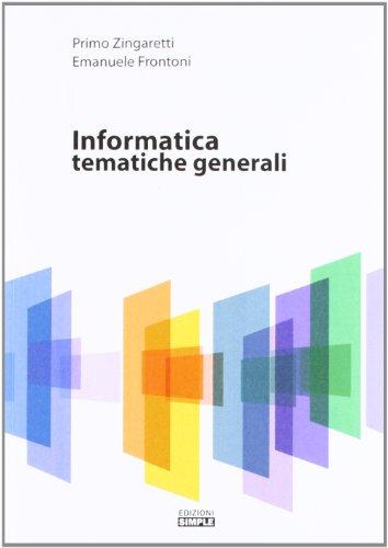 Informatica. Tematiche generali