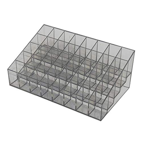 Provide The Best 40 Grids Acryl Make-up Aufbewahrungsbox Kosmetik Lippenstift Schmuck Fall Halter Display Rack Ständer Lip Gloss Organizer