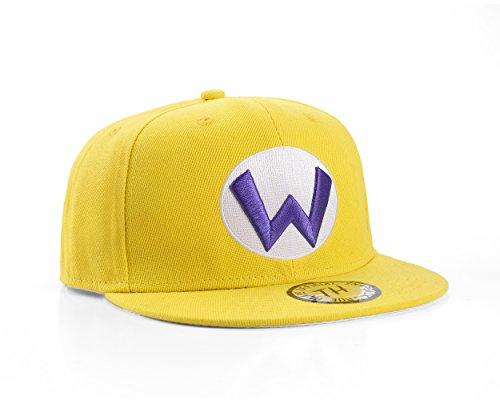 Underground Kulture Super Mario Themen Snapback Baseballkappe (Wario)