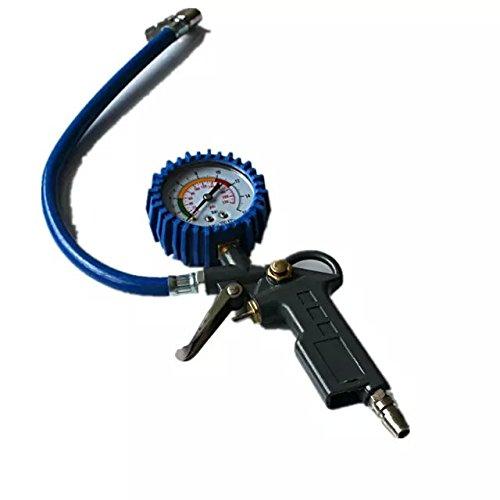 Preisvergleich Produktbild Goliton® Gun Air Manometer Auto Reifendruck Messgerät Pressure Monitor Multifunktions Reifen Manometer Gun - Schwarz