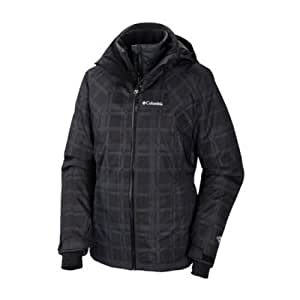 Columbia Whirlibird femmes Interchange 3 en 1 manteau de Ski-Homme-Noir-Taille M