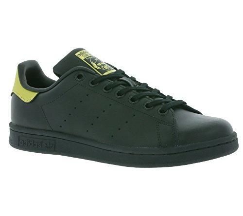 adidas Unisex-Kinder Stan Smith Sneaker Low Hals schwarz - gold