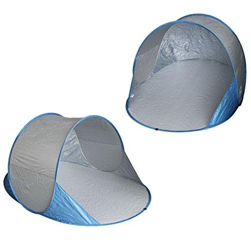 XL POP UP 2 Personen Strandmusche Strandzelt Wurfzelt Campingzelt Strandzelt Windschutz Sichtschutz mit Boden