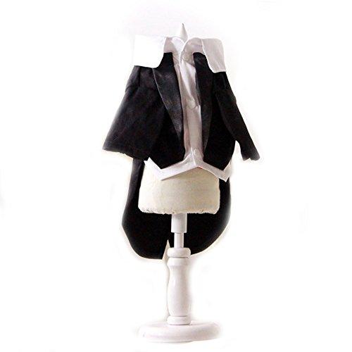 Kleine Haustiere Hund Katze Hochzeit Smoking Outfit Garment Party Kleidung Hund Puppy Formale Coat Jacke Kleidung Hund Bräutigam (Kostüm Tuxedo Katze)