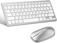OMOTON deutsche Bluetooth Tastatur Maus Set für iPad 10.2,iPad 2018/2017,iPad 7/6/5/4,iPad Air3/ 2,iPad Pro 10.5,iPad Mini 5